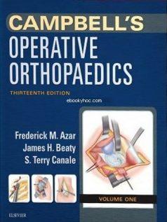 Ebook Campbells-Operative-Orthopaedics-4-Volume-Set-13e