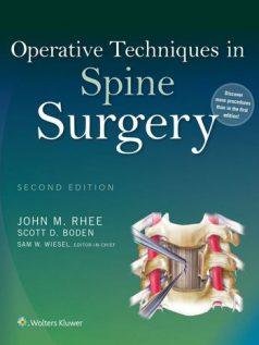 Ebook Operative-Techniques-in-Spine-Surgery-2e